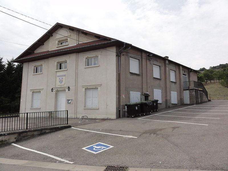 Écrouves (Meurthe-et-M.) salle des fêtes