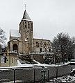 Église Saint-Germain-de-Charonne (Paris) sous la neige 03.jpg