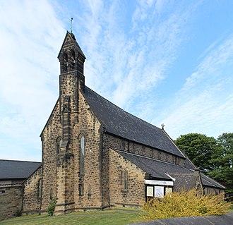 Percy Main - St John's church.