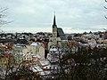 Český Krumlov, pohled z Plešivce na město.jpg