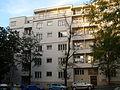 Činžovní dům - trojdům (Žižkov), Praha 3, Radhošťská 20, Žižkov - detail.JPG