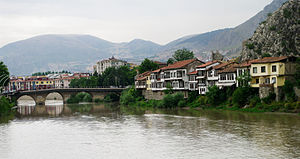 İstasyon Bridge - İstasyon Bridge in Amasya, Turkey