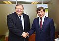 Συνάντηση Αντιπροέδρου της Κυβέρνησης και ΥΠΕΞ Ευ. Βενιζέλου με τον Υπουργό Εξωτερικών της Τουρκίας A. Davutoglu (9901169446).jpg