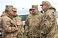 Бойові стрільби зенітних ракетних підрозділів Повітряних Сил та Сухопутних військ ЗС України (31894603058).jpg