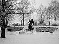 Братська могила воїнів Радянської Армії і пам'ятник воїнам-односельцям, с. Циблі.JPG