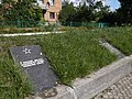 Братська могила в Немирові. Кількість загиблих відрізняється від вказаного в списках P1090016.JPG