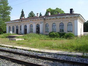 Kingiseppsky District - Kotly railway station