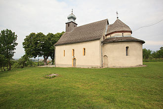 Uzhhorod - 11th-century Rotunda in Horiany