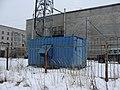 Дизель-генератор у телефонной станции, Коряжма.jpg
