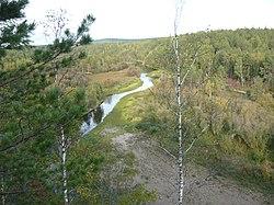 Долина реки Серга,вид со скалы Вдохновения.JPG