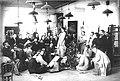 ИАХ. Живописная мастерская профессора И. Е. Репина. Постановка натуры (1897-1898).jpg