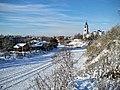 Кашин, вид на Воскресенский собор из горсада - panoramio.jpg