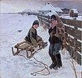 Морозный день. На санках. Головков Герасим Семенович.jpg