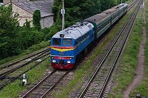 Calea Ferată din Moldova - M62 locomotive.