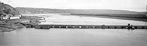 Понтонный мост, Томск, 1973.jpg