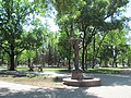 Сквер ім. Молодої гвардії в Луганську. Памятник Тетяні Снєжиній..JPG