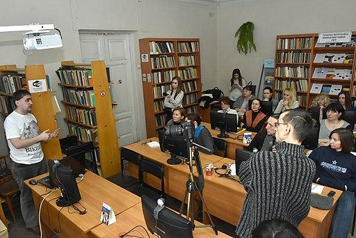 Тернопіль - Вікізустріч із Мар'яном Довгаником у ТОУНБ - 17021977