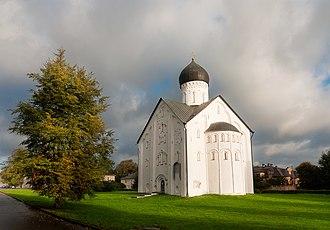 Church of the Transfiguration on Ilyina Street - The Church of the Transfiguration on Ilin Street, Novgorod the Great