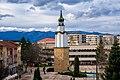 Часовниковата кула в Ботевград, 17 декември 2014 г.JPG
