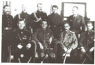 Alexander Kolchak - Kolchak with Radola Gajda in 1919