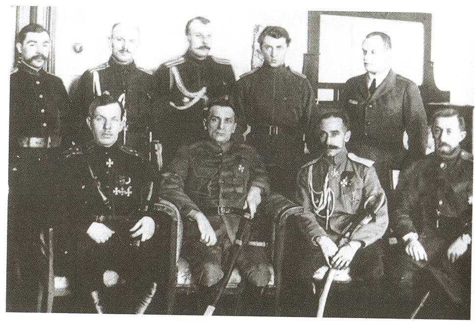 Штаб Сибирской армии