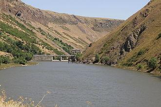 Vorotan Cascade - Angeghakot reservoir
