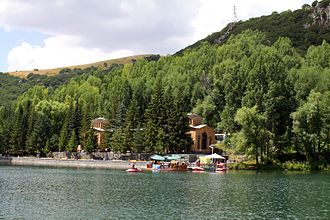 Jermuk - The mineral water spa centre of Jermuk