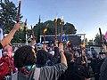 הפגנת מחאה מול הווילון השחור בבכניסה לבית ראש הממשלה בבלפור שבת אחר הצהריים 26 בדצמבר 2020 (3).jpg