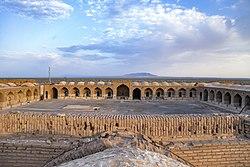 کاروانسرای دیرگچین قم، با قدمت ساسانی، میراث ملی 20.jpg