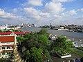 ワット・アルンから眺めたチャオプラヤー川.JPG