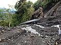 楢尾智者山線で土砂崩れ - panoramio.jpg