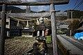 水路の石灯籠(^) - panoramio.jpg