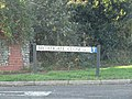 -2019-12-01 Street sign Broadgate Close, Northrepps, Norfolk.JPG