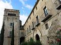 010 Sant Jeroni de la Murtra, façana sud i torre prioral.JPG