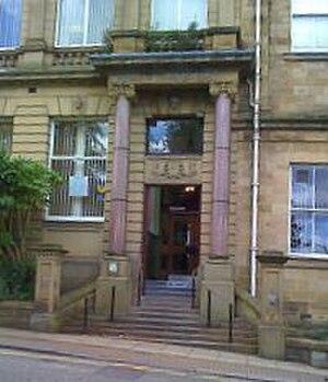 Accrington - Accrington Library