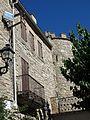 036 Castell de Vallfogona de Riucorb, façana est, des de la plaça de l'Església.jpg