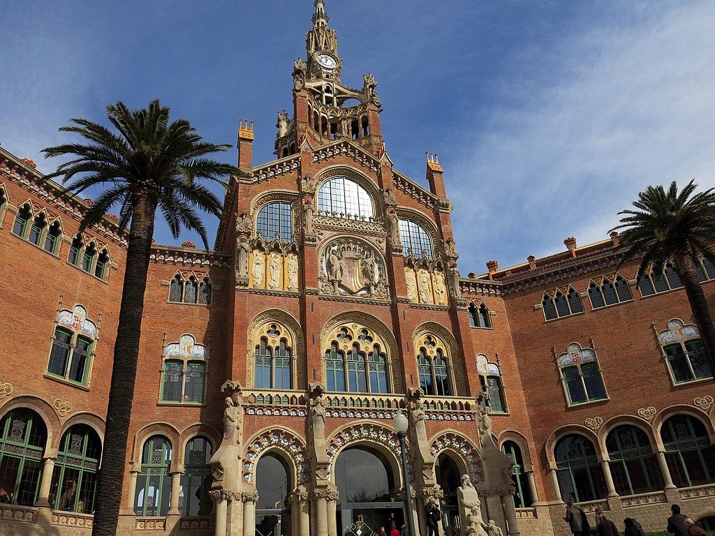 Hôpital Art nouveau Sant Pau à Barcelone