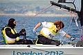 050912 - Daniel Fitzgibbon & Liesl Tesch - 3b - 2012 Summer Paralympics.jpg