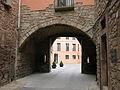 077 Portal de les Verges, o de Cal Quatre (Santpedor), cara oest.JPG