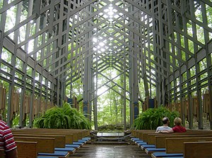 Eureka Springs, Arkansas - Thorncrown Chapel (2006)