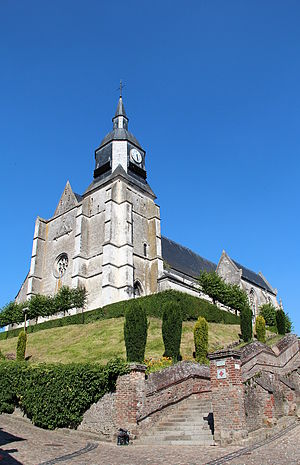 Auxi-le-Château - The Saint Martin's church (16th century).