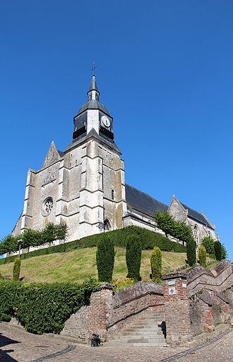 Auxi-le-Château - The Saint Martin's church (16th century).
