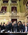 10-12-2011 Juramento de la Presidenta Cristina Fernández (6500526879).jpg