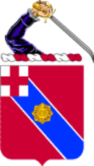 101st Engineer Battalion - Coat of Arms