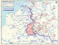 Les six premiers jours de la campagne: les panzers passent la Meuse