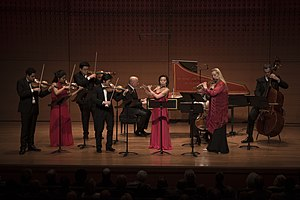 Chamber Music Society of Lincoln Center - Chamber Music Society artists performing the Brandenburg Concertos in Alice Tully Hall.
