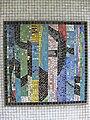 1220 Saikogasse 6-8 - Rudolf Köppl-Hof - Stg 28 - Glasmosaik Farbige Komposition von Hans Staudacher 1967 IMG 1093.jpg