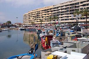 Saint-Cyprien, Pyrénées-Orientales - The harbour in Saint-Cyprien