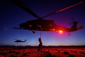 24th Special Tactics Squadron - Squadron members complete fast rope and hoisting training during exercise Advanced Guard