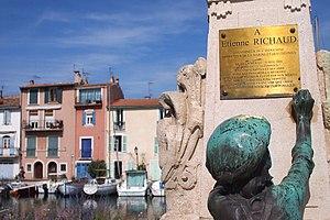 Étienne Richaud - Monument to the memory of Étienne Richaud, detail